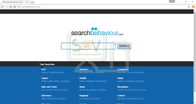 SearchBehaviour.com (Hijacker)