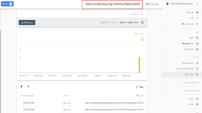 حل مشكلة  تم رصد مشكله data-vocabulary.org في مسارات التنقل بكل سهوله
