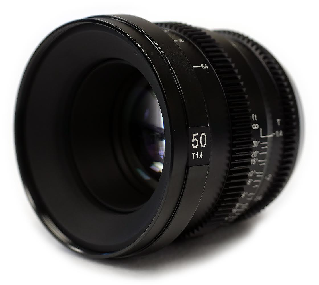 SLR Magic MicroPrime Cine 50mm T1.4