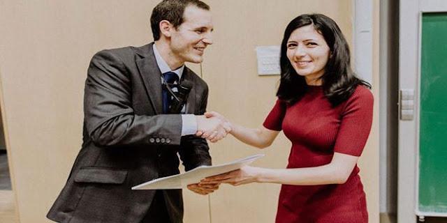 بحث طبي لطالبة سورية من السويداء في إحدى الجامعات الألمانية بمرتبة الشرف