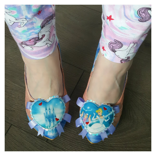 wearing faith in dreams irregular choice cinderella