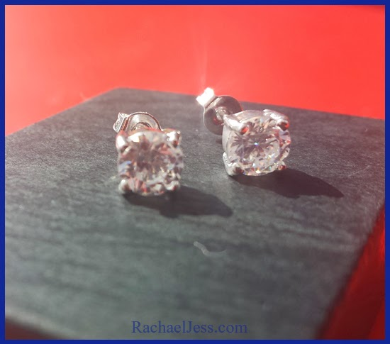 Sterling Silver #Cubic Earrings