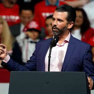 Donald Trump Jr urged his father to 'fight to the death' over the election