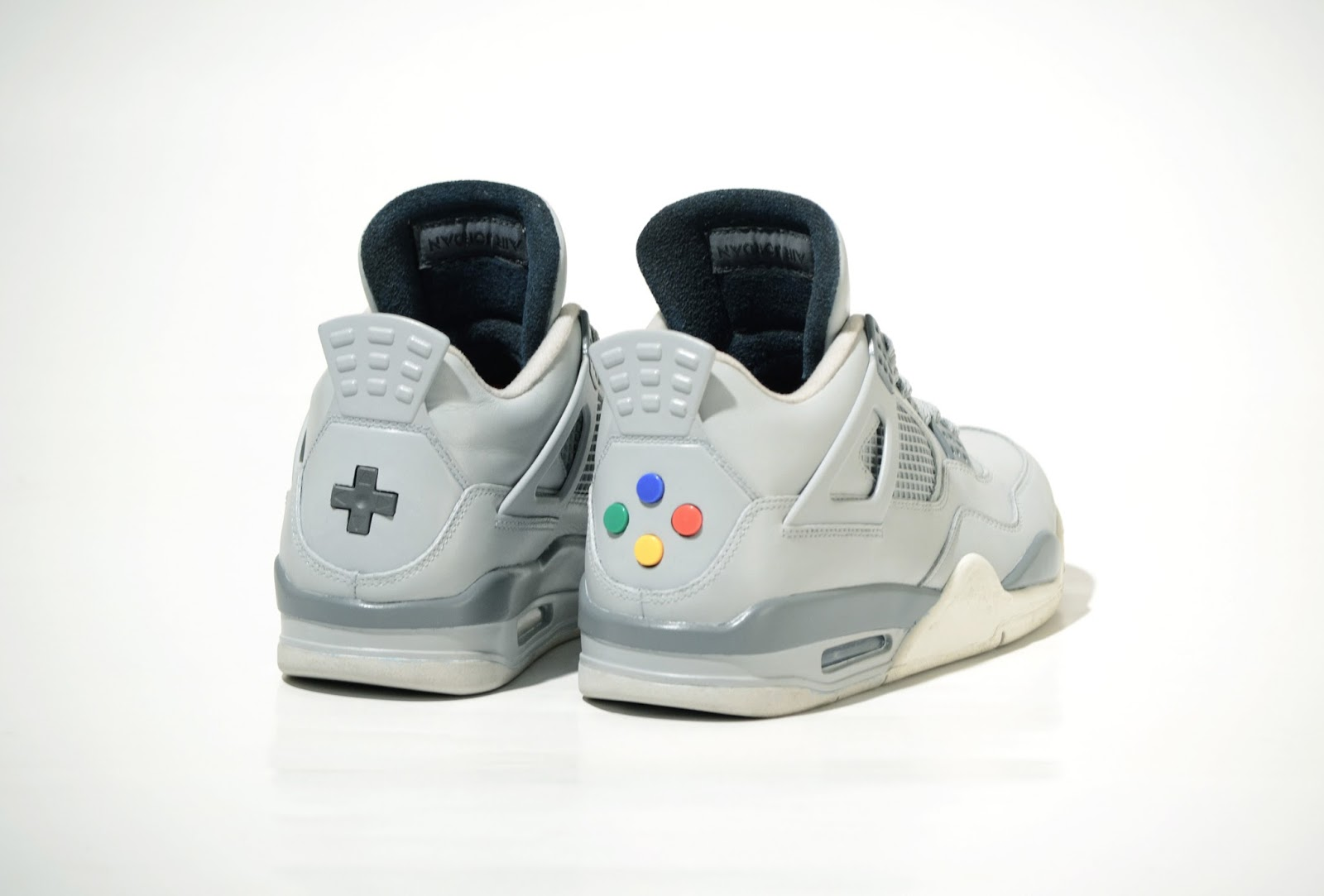 Check Out The Air Jordan 4 Super Nintendo