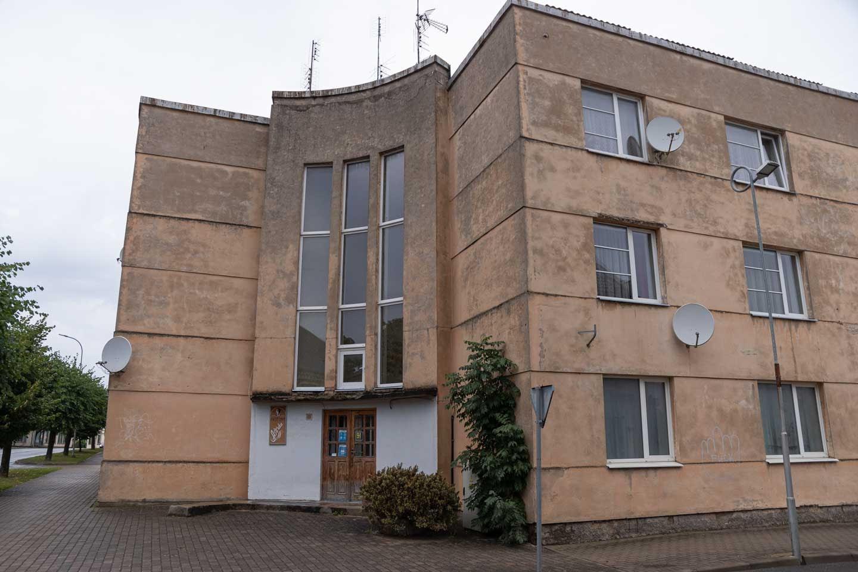 Auce padomju ēkas 2