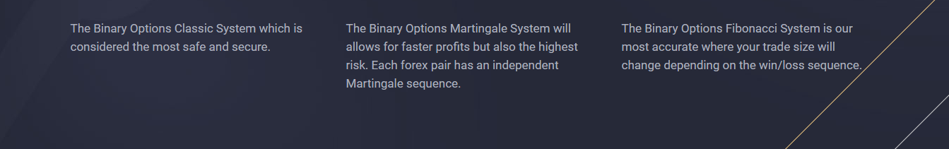 Accurate binary options robot