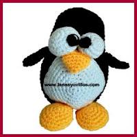 Linux amigurumi