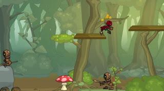 Chơi game ninja dot kich 2 thu vi