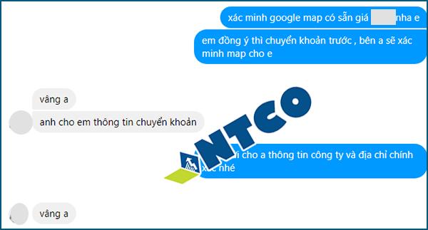 xac minh google map feedback