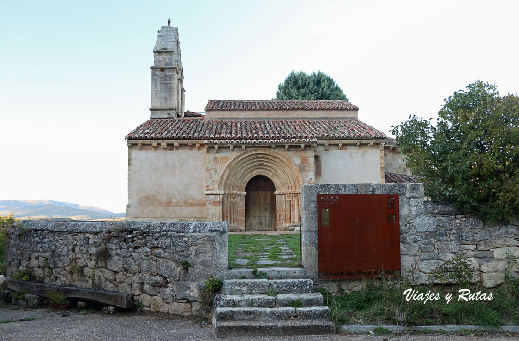 Portada de Iglesia de San Andrés de Gama