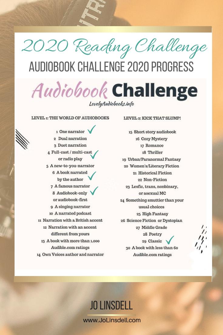 2020年挑战:3月进展报告#有声读物挑战2020