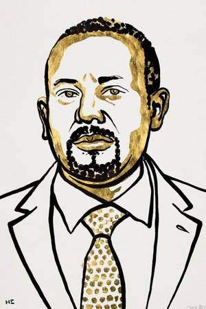 PM Abiy Ahmed Ali Ethiopian🇪🇹  Wins 🎖Peace Nobel Prize