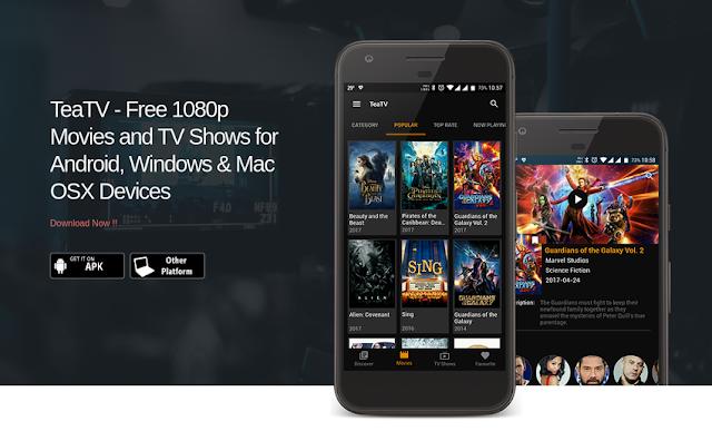 تطبيق TeaTV الجديد والمميز لمشاهدة أحدث الأفلام والمسلسلات العالمية مع الترجمة وبدون إعلانات