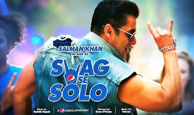 Salman Khan new video album Swag Se Solo Lyrics