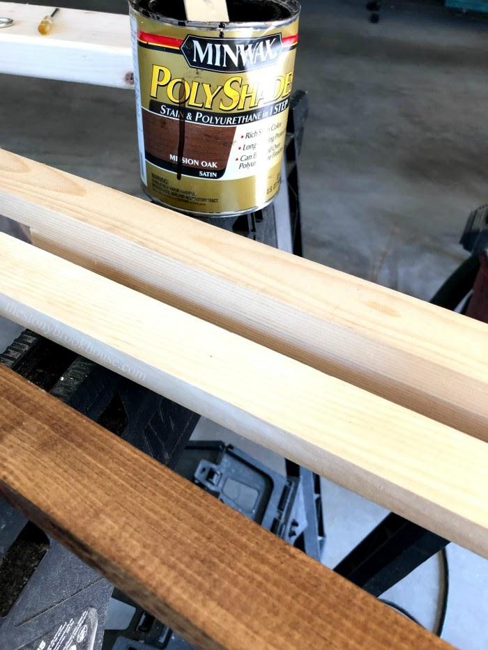 Sign making - Wood frame