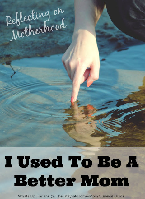 Such a great post about being a mom and when in your motherhood career you are at your peak, and what it all means anyway.