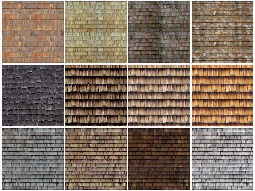 tileable_texture_wood_roofing #1