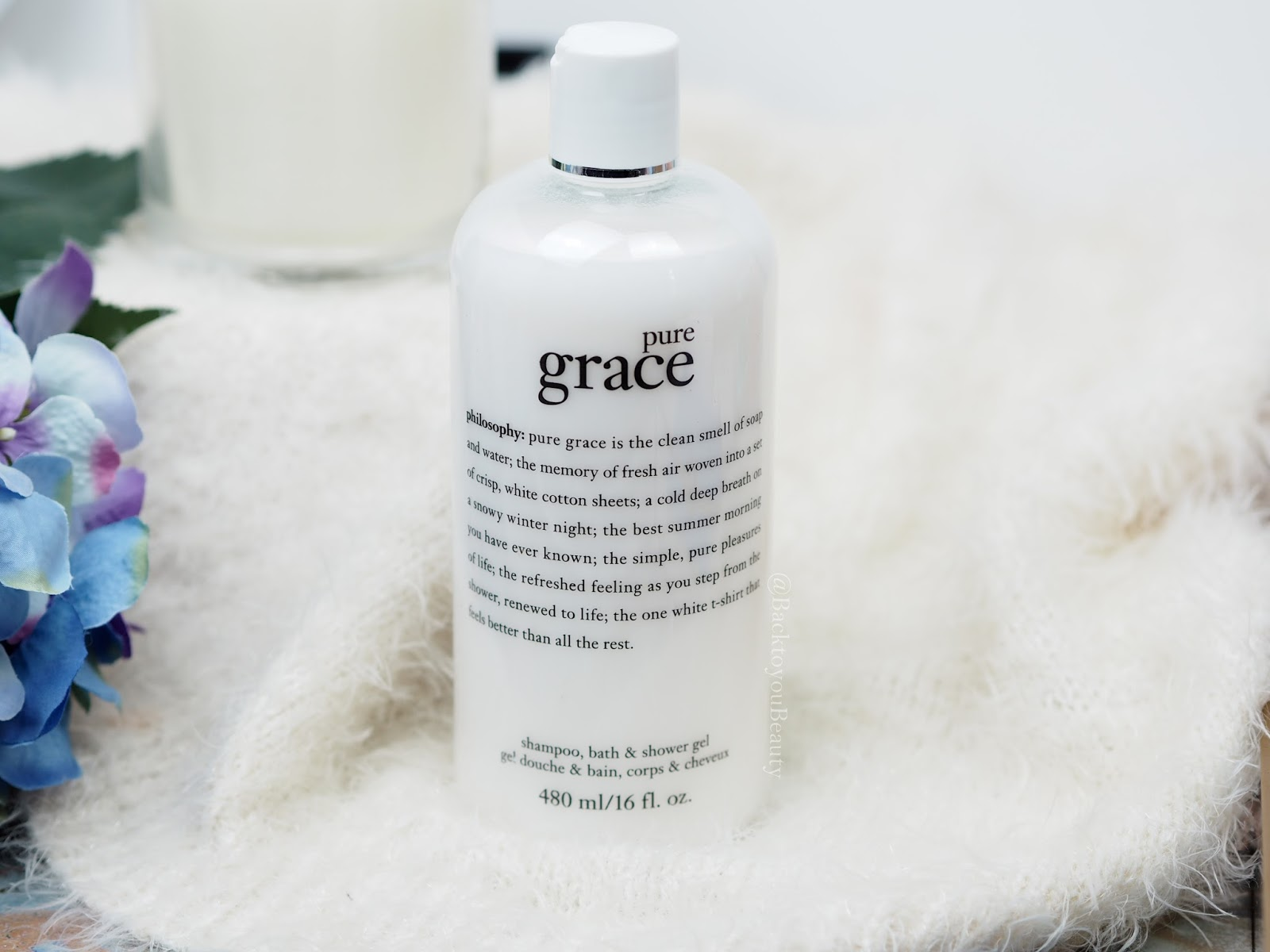 Pure Grace Shampoo, Bath & Shower Gel 480ml