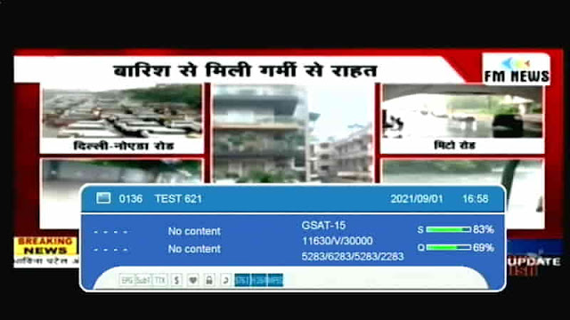 FM News Channel added at Channel Number 116, Know FM News channel Frequency and Channel LCN