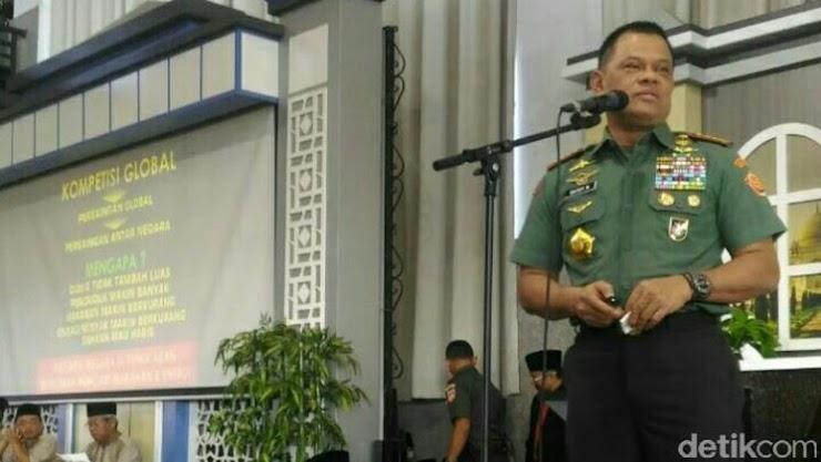 Panglima TNI Angkat Bicara Soal Gambar Bendera RI Terbalik di Malaysia