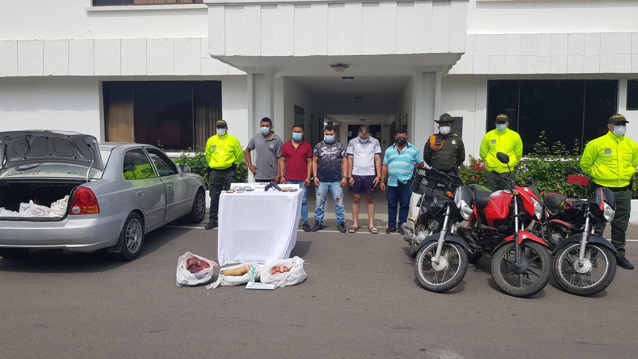 https://www.notasrosas.com/Seccional de Investigación Criminal captura a 'Los Urban', en zona rural de Valledupar