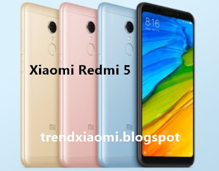 hentinya merilis jajaran produk ponselnya Xiaomi Redmi 5 series