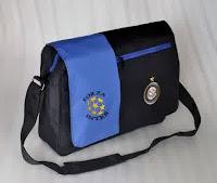 Jual Tas Selempang Laptop Bola Inter Milan Murah