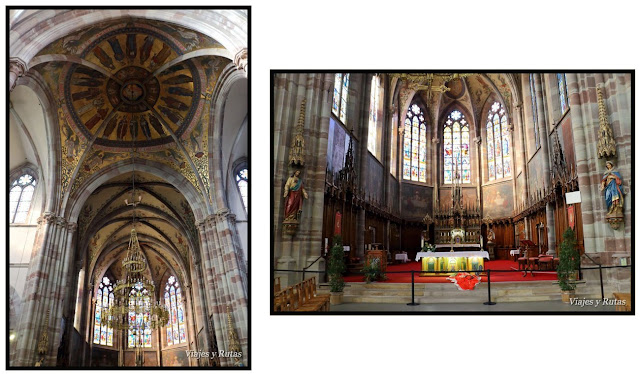 Iglesia de San Pedro y San Pablo de Obernai, Alsacia