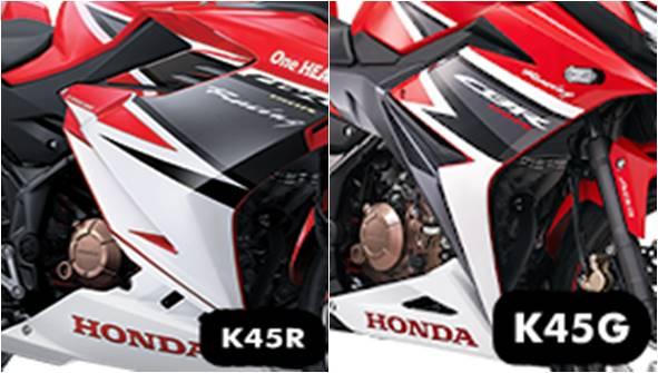 13 Perbedaan CBR 150 K45R (2021) dan CBR 150 K45N