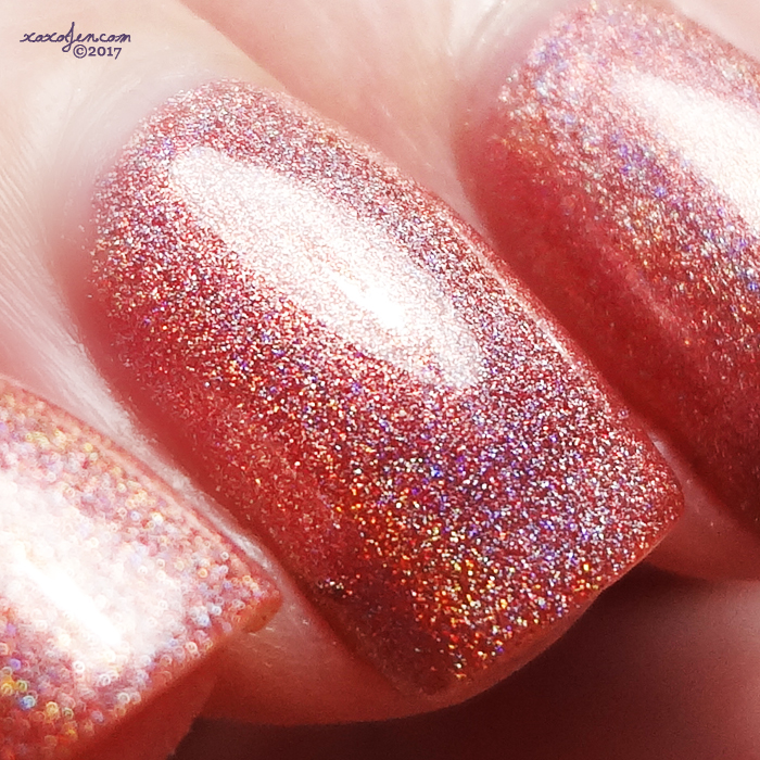 xoxoJen's swatch of KBShimmer Stop and Smell the Rose