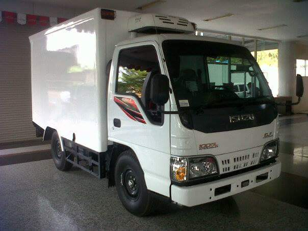 DP Kredit Isuzu Elf Engkel 4 Ban Box Besi