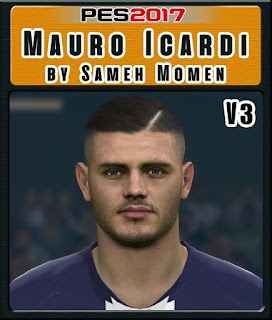 PES 2017 Faces Mauro Icardi by Sameh Momen