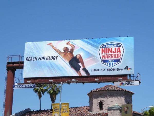 American Ninja Warrior season 9 billboard