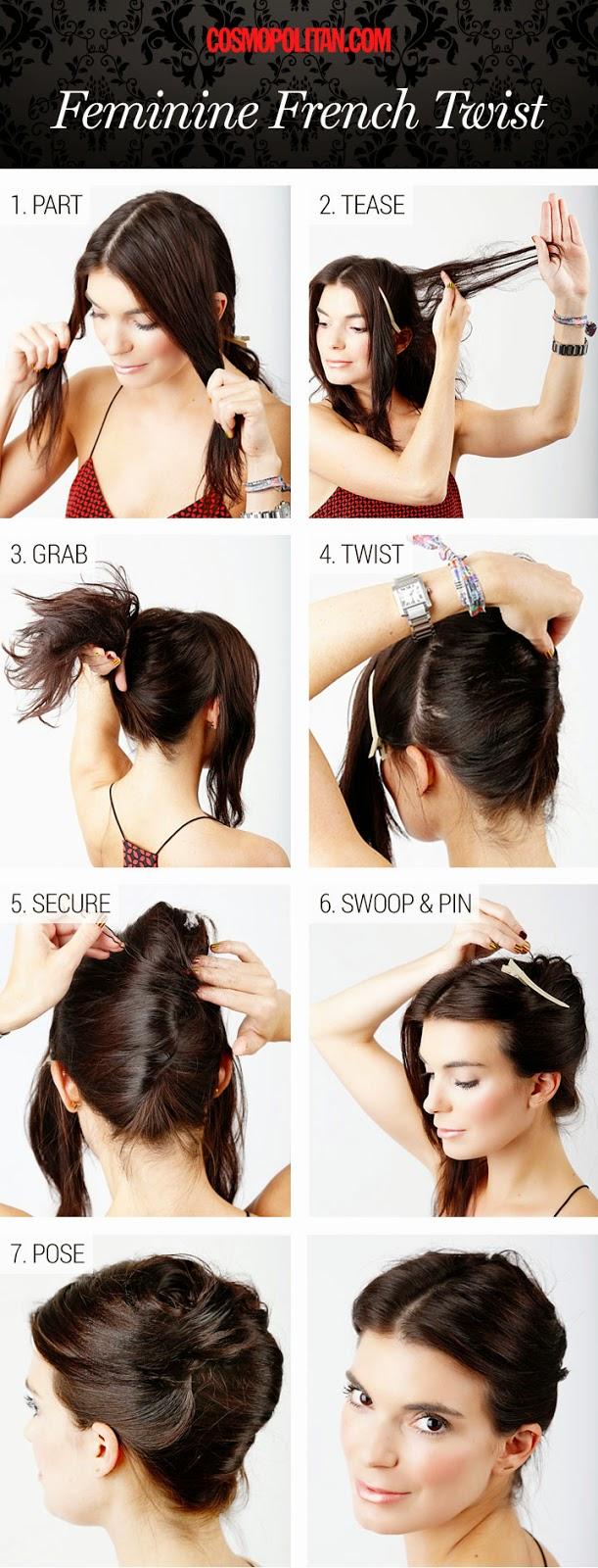 Tutorial Menata Rambut Panjang Dan Pendek Secara Mudah 7