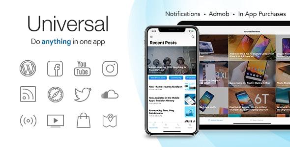 Universal for IOS v4.4.2 - Full Multi-Purpose IOS app