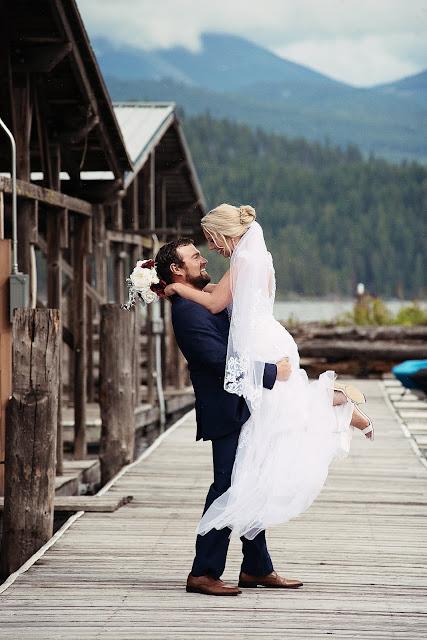 .Lacy & Logan Wedding.Coeur d'Alene, ID photographer-Julie Dawn Photography.