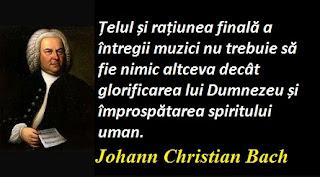 Maxima zilei: 5 septembrie - Johann Christian Bach