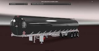American Truck Simulator Heil Tank 3 Axles Trailer Trailer Download MODs
