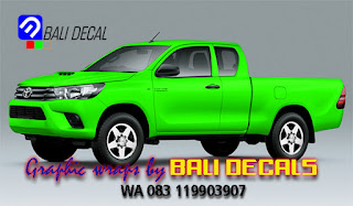 cutting sticker mobil toyota murah