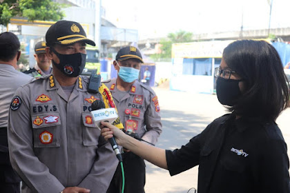 Polda Banten Amankan Nataru Dengan Tetap Himbau Terapkan Prokes.