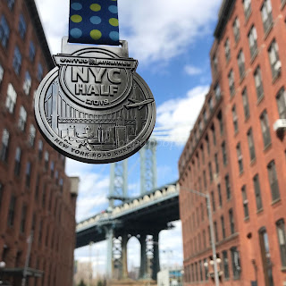 United NYC Half 2019 medaille
