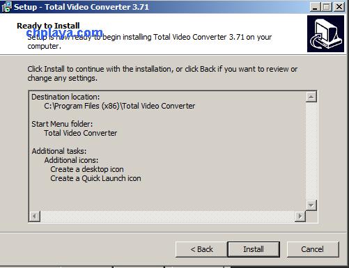 Hướng dẫn cài đặt Total Video Converter 3.71 Full Key + Active trên máy tính, laptop windows 7 g