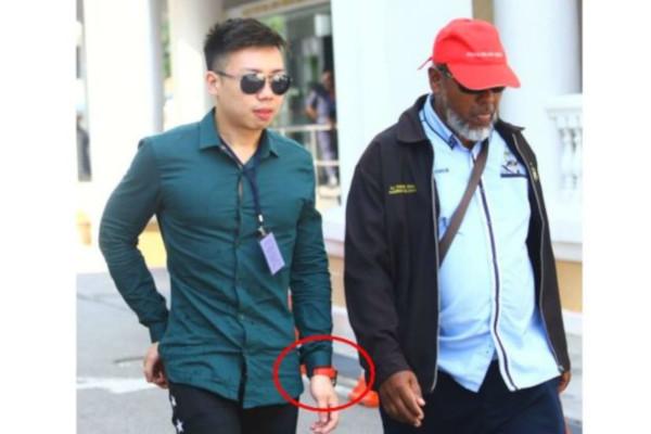 Netizen dedahkan anak lelaki sulung Lin Guan Eng memakai jaket berharga RM5,000