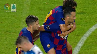 Friendly : Barcelona 2 vs 1 Napoli 08-08-2019