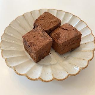 チョコレート餅