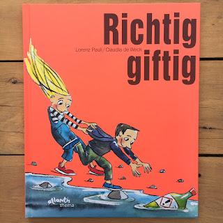 """""""Richtig giftig"""" von Lorenz Pauli, illustriert von Claudia de Weck, erschienen im Atlantis Verlag, ist ein 32-seitiges Bilderbuch für Kinder"""