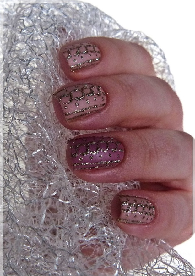 Nageldesign Trend Knit Nails