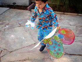 fun fluttering butterfly craft