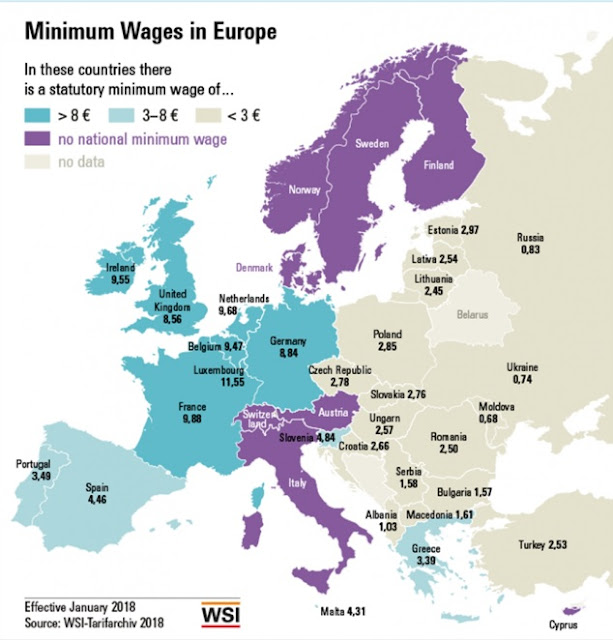 Minimum wage in Albania among the lowest in the World according WSI