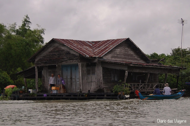 Visitar Angkor Wat - Lago Tonle Sap